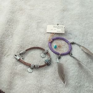 Dream Catcher and bracelet